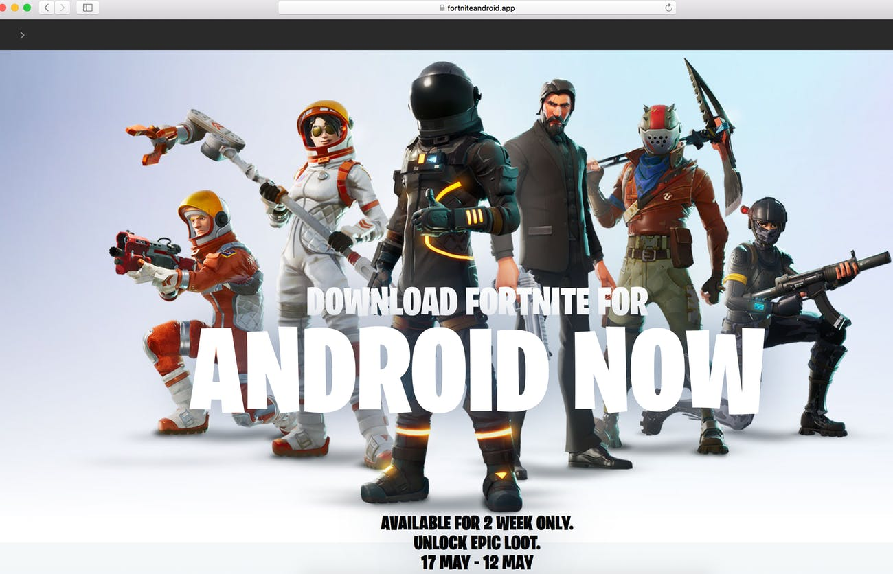 FortniteAndroid App: Why You Shouldn't Download 'Fortnite' From This