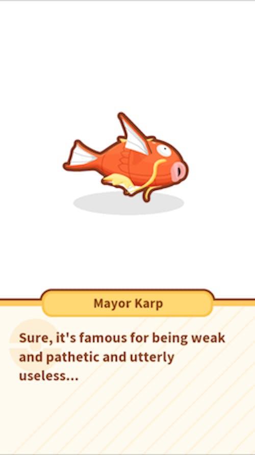 The lamest Pokémon of them all takes the spotlight.