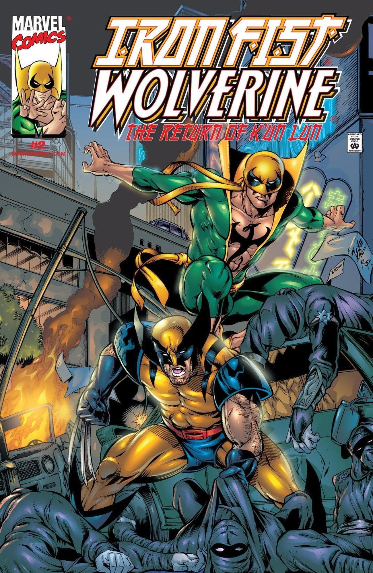 Iron Fist Marvel Wolverine