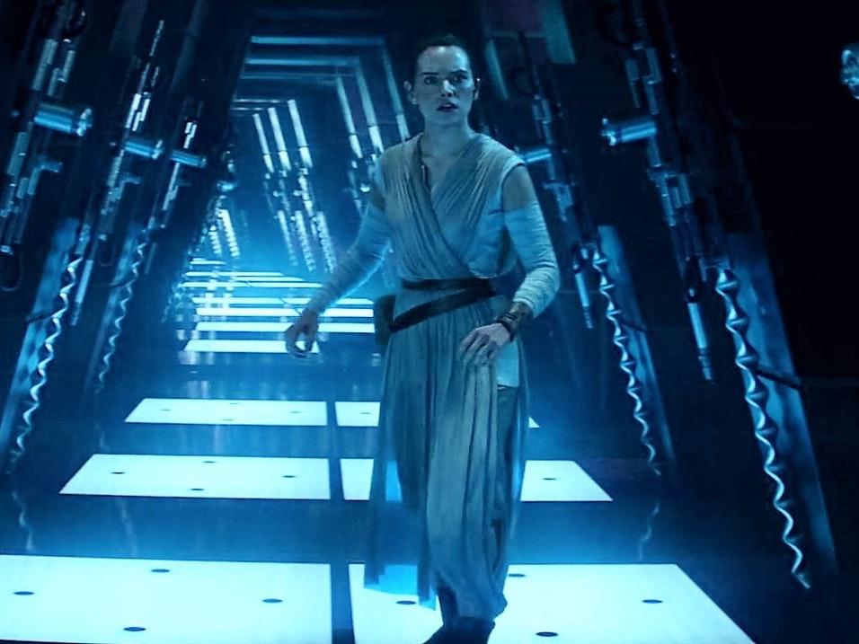 Rey Almost Watched Vader Fight Luke Skywalker on Cloud City