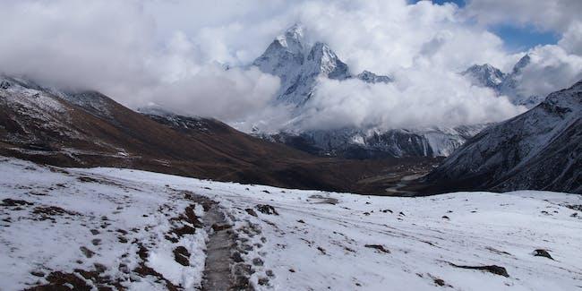 Trekking in the Himalayas, Nepal