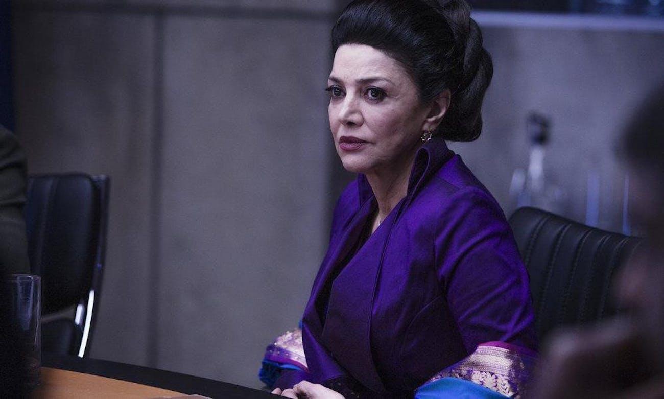 Aghdashloo as U.N. undersecretary Chrisjen Avasarala in Syfy's 'The Expanse.'