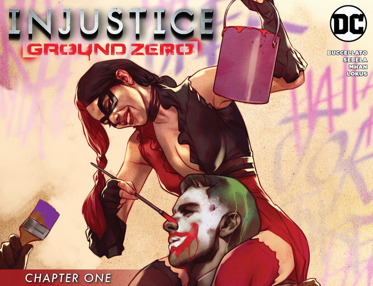 Injustice Ground Zero Comic Harley Quinn DC Comics