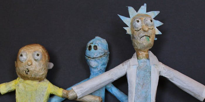 Rick and Morty joints