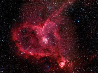 This Heart Nebula Creates a Loving Home for Baby Stars