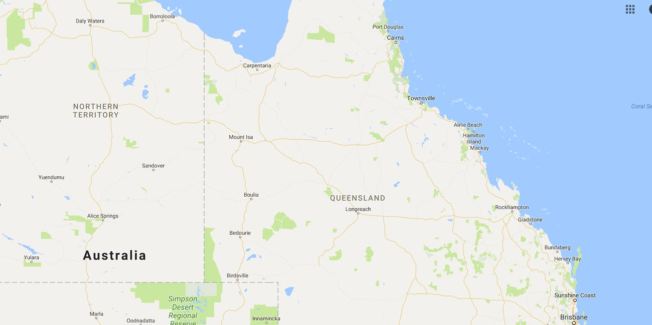 Google Maps Australia Electric Superhighway
