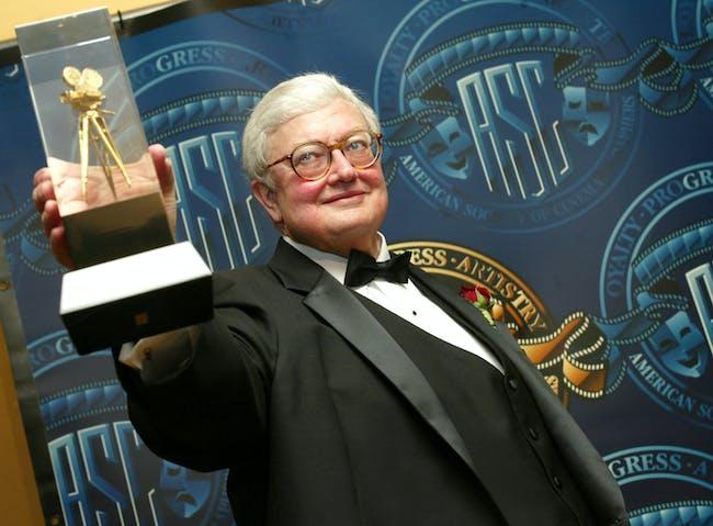 Film Critic Roger Ebert American Society of Cinematographers Award