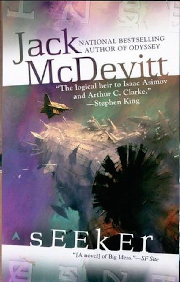 Legendary Science Fiction Writer Jack Mcdevitt Would Hide From