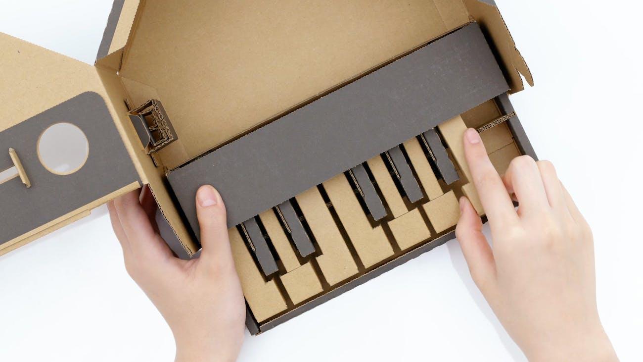 Nintendo Labo Piano Kit.