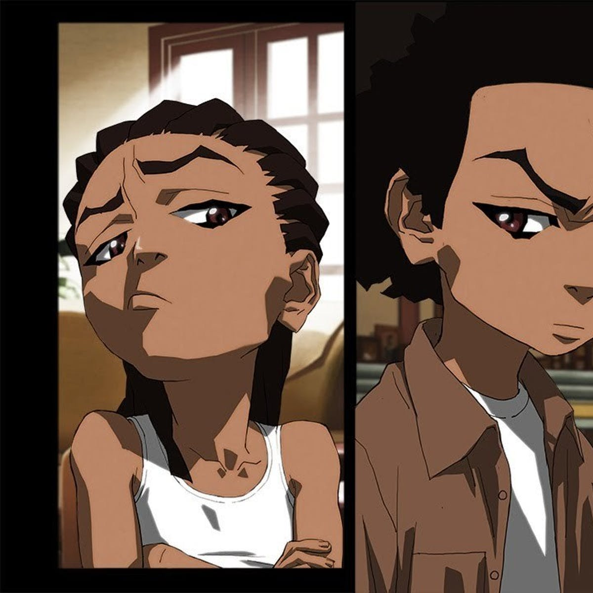 best sneakers dd346 e359e We Need  The Boondocks  s Racial Satire Now, More than Ever
