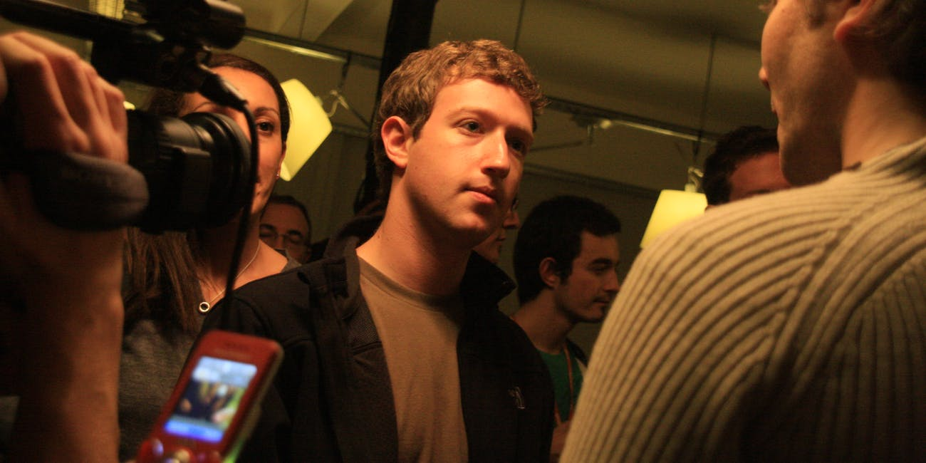 Mark Zuckerberg - Facebook Developer Garage Paris 2008 (1)