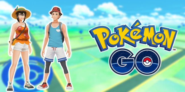 Just in time for the winter season, you can dress in your best Alola gear.