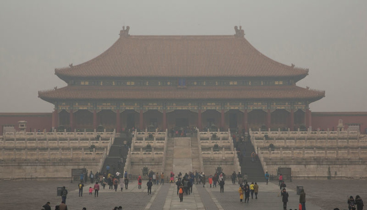 China has been working to reduce the smoggy conditions that plague Beijing.
