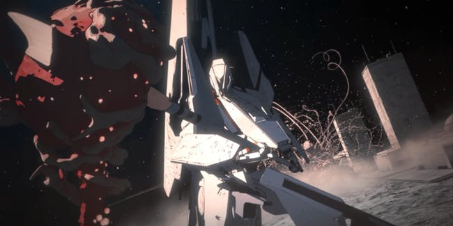 Among many things that 'Knights of Sidonia' does well are the top-notch battle sequences.