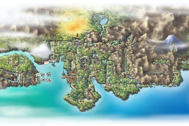 The Johto Region