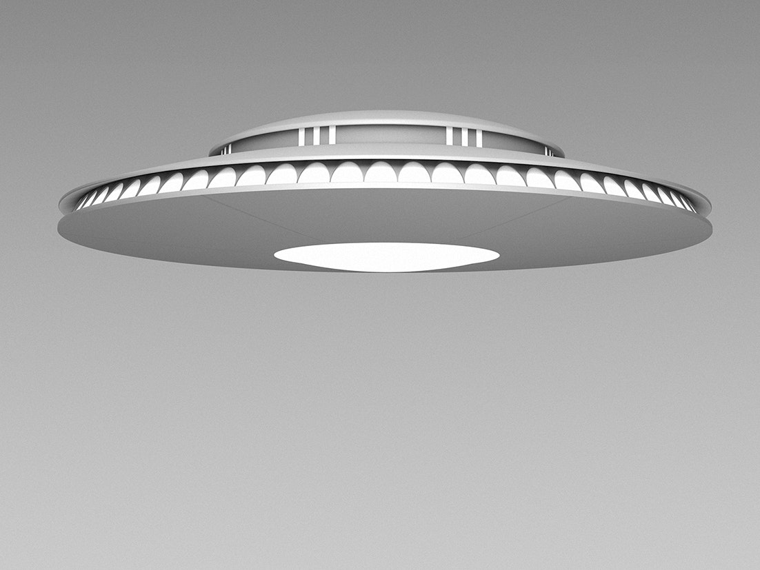 UFOs aren't real, but they are cool.