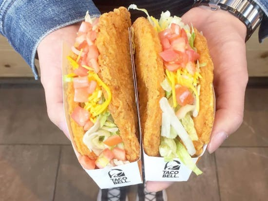 Taco Bell's Fried Chicken Shell Taco Is Weird and Wonderful