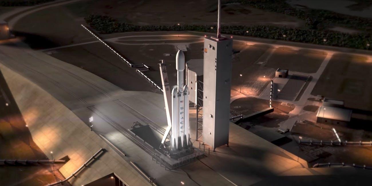 Elon Musk Falcon Heavy When is the Launch?