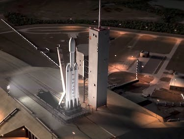 Can SpaceX Pull Off a Falcon Heavy Launch Date in Late Summer?