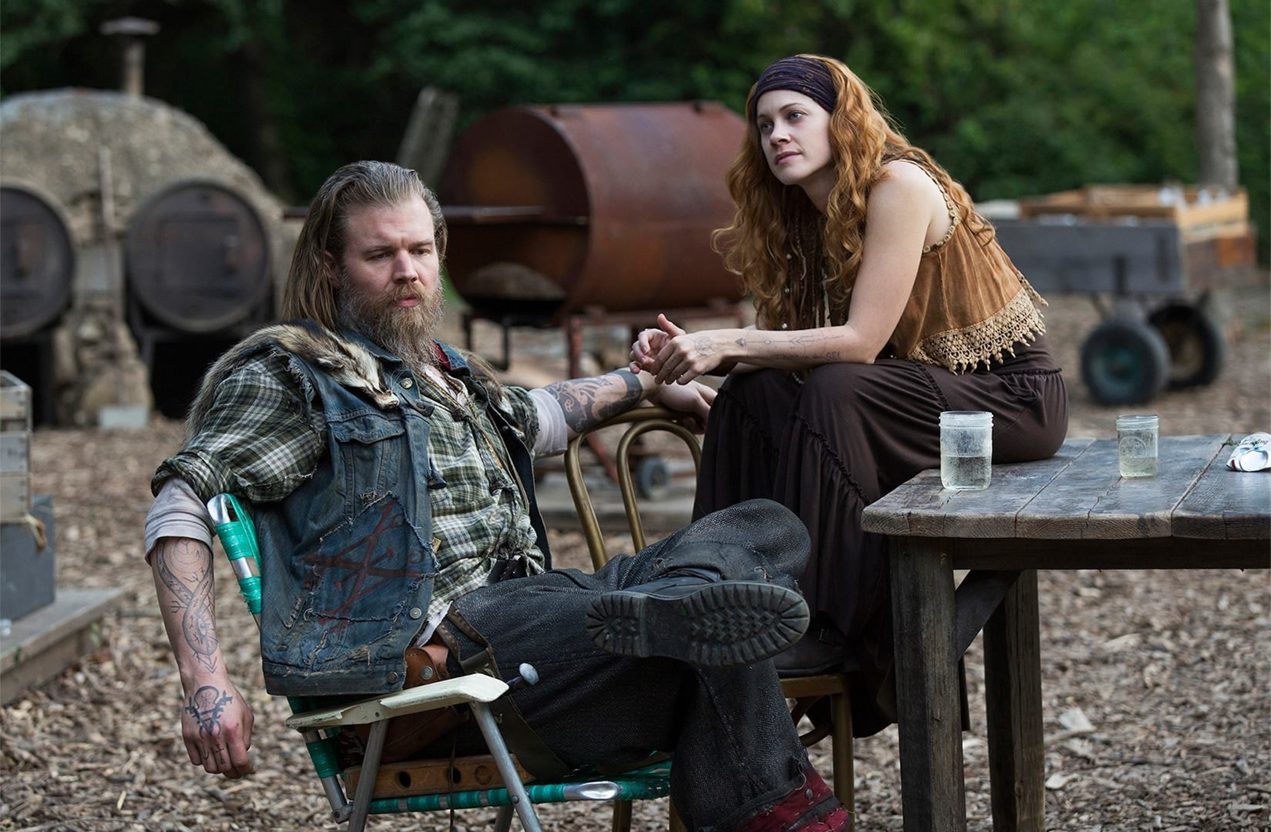 Ryan Hurst in 'Outsiders'