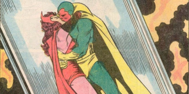 Vision Scarlet Witch Avengers