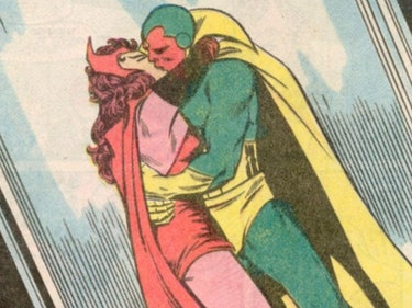 Scarlet Witch and Vision Finally Make Out in 'Infinity War'