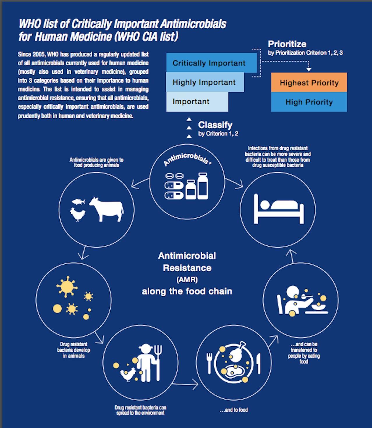 World Health Organization Anti-Microbial Resistance