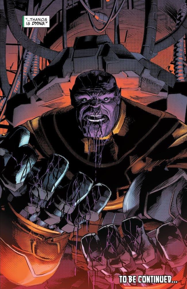 Thanos Comic Infinity War