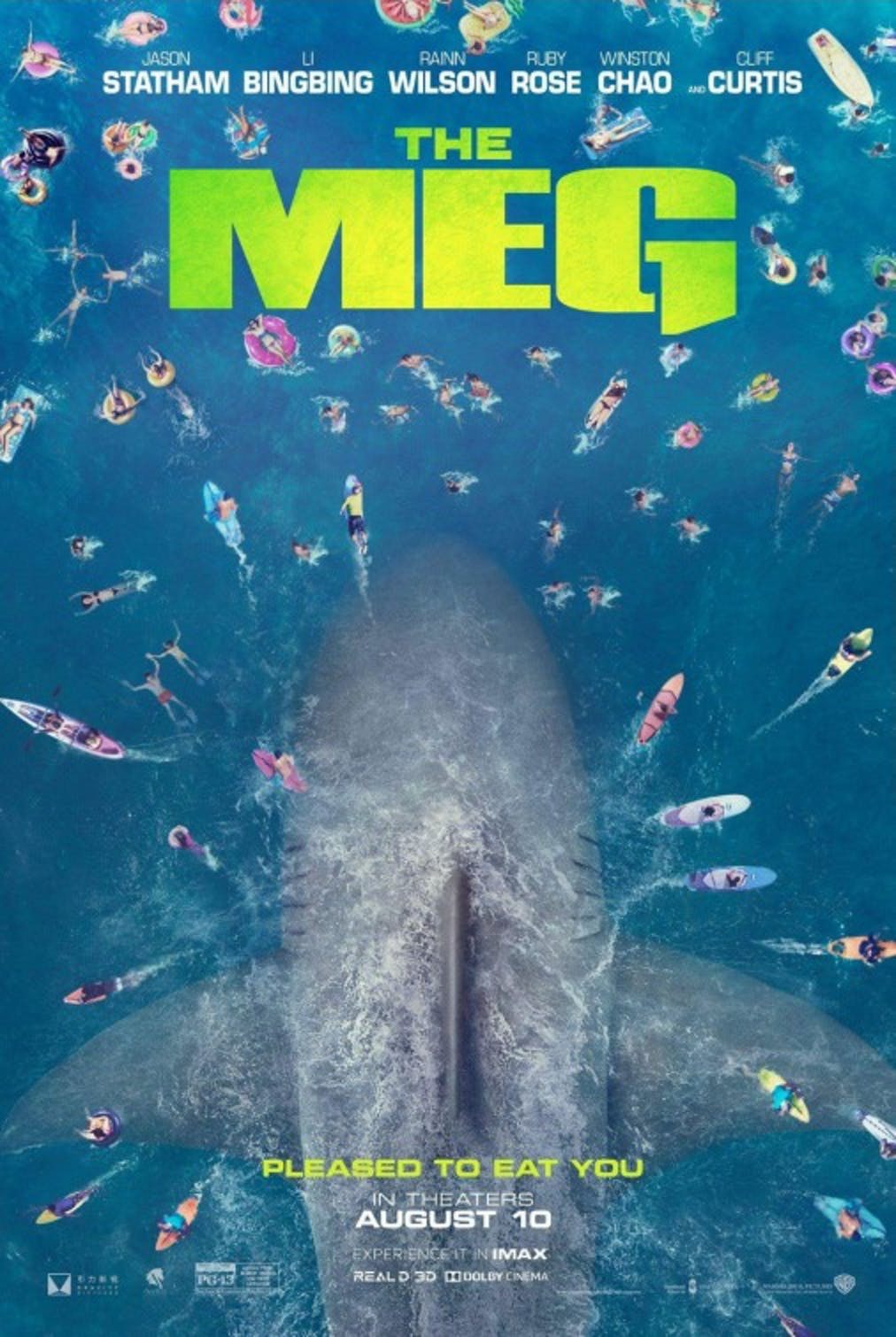 The Meg' Is the Extremely Stupid, Very Fun Shark Movie We All Need