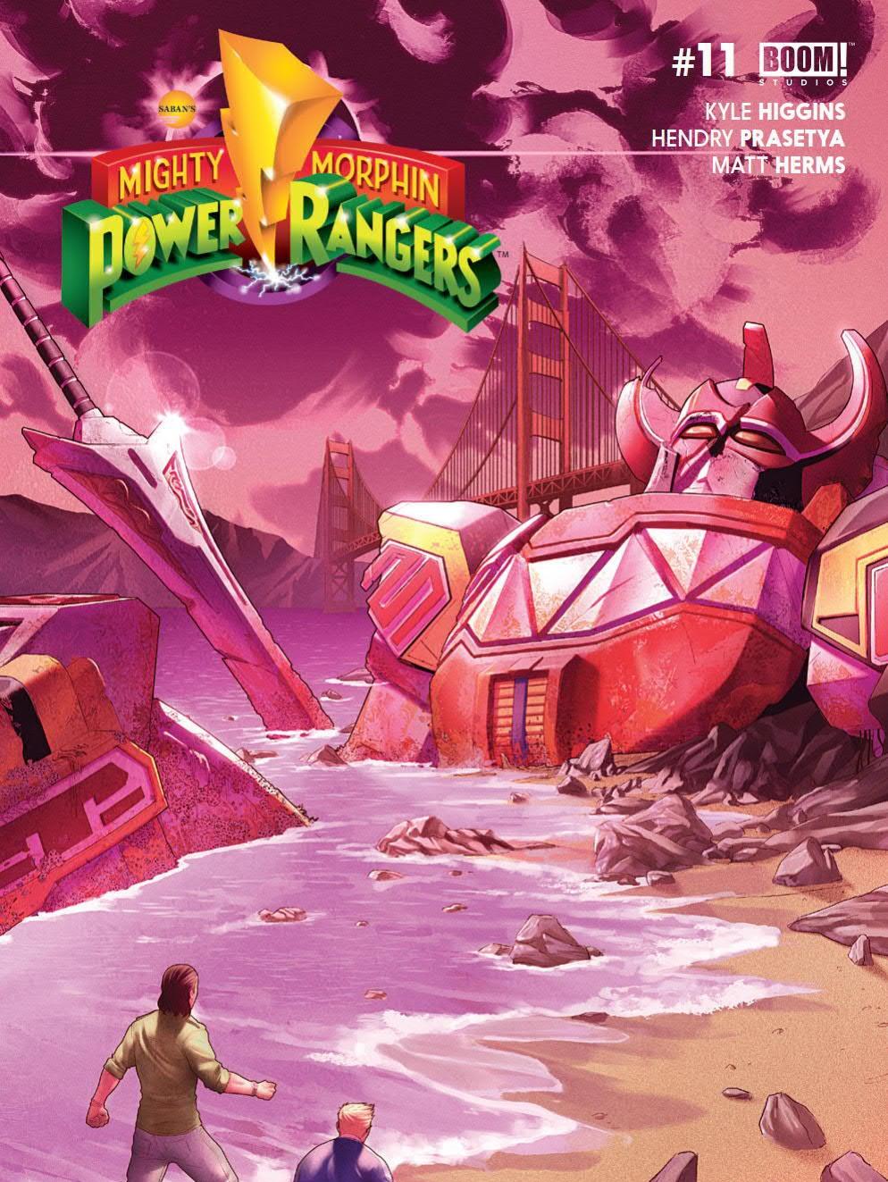 Power Rangers White Ranger Comic
