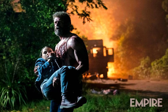 Logan photos from Empire Magazine and Fox
