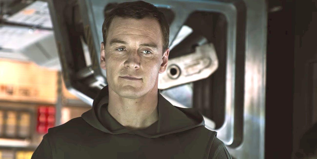 Michael Fassbender as Walter in 'Alien Covenant'