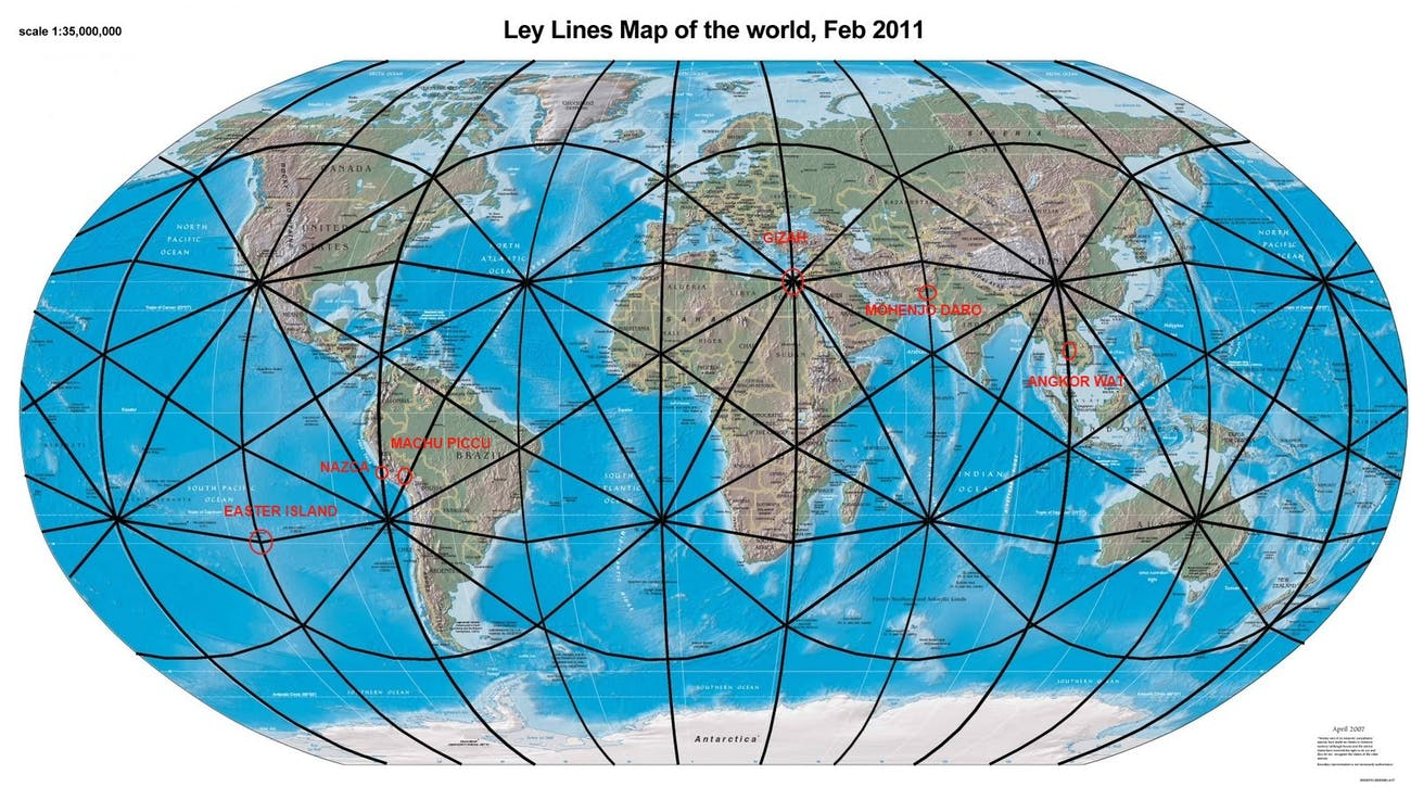 Notice that there's a point of convergence near where 'The Long Night' takes place in Alaska.