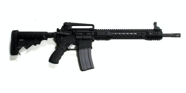 Edgar's first AR-15