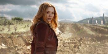 Avengers Infinity War Elizabeth Olsen