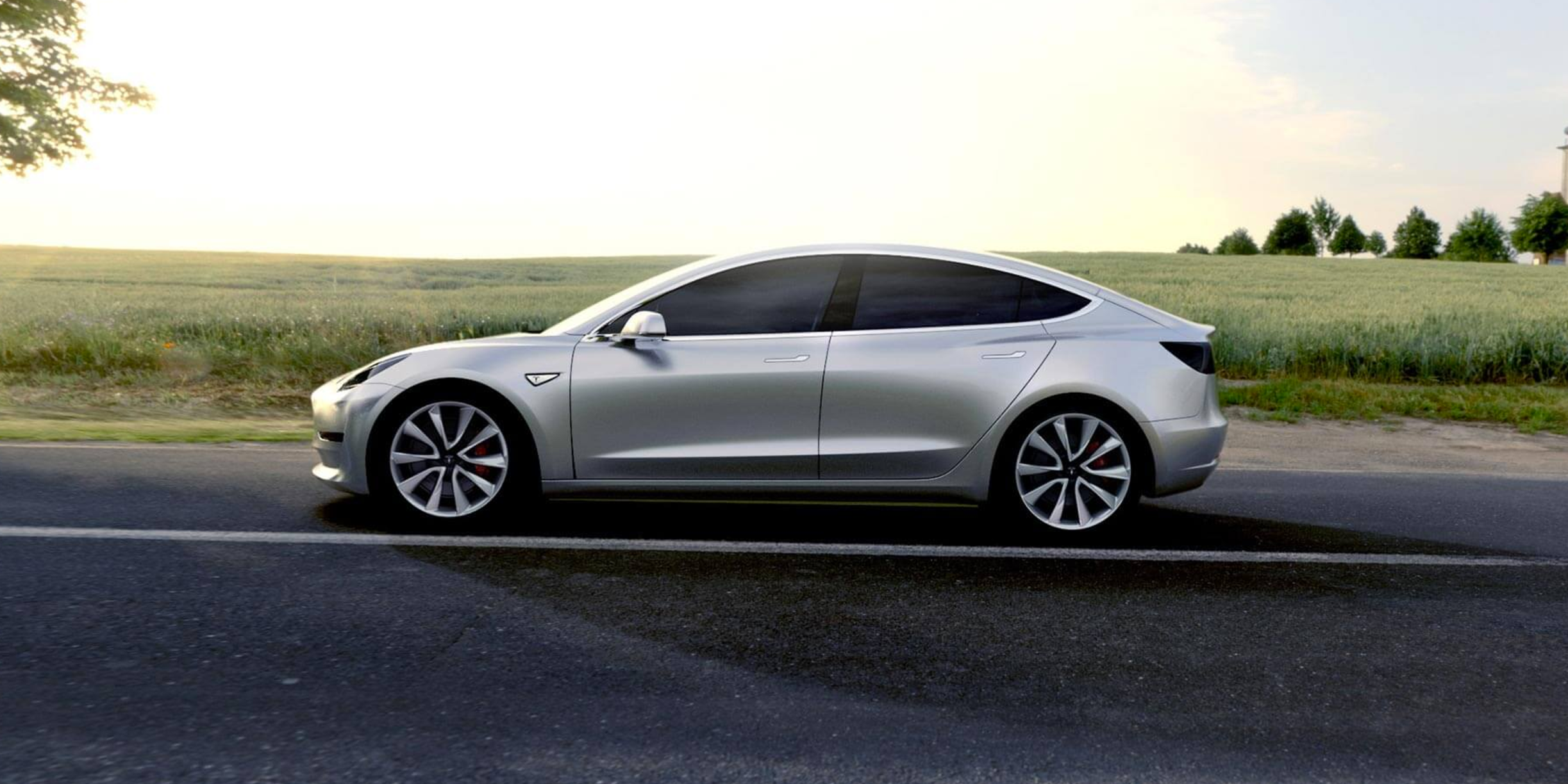 Tesla Model 3 Prototype Photo Hints at Pre-Order Color Options