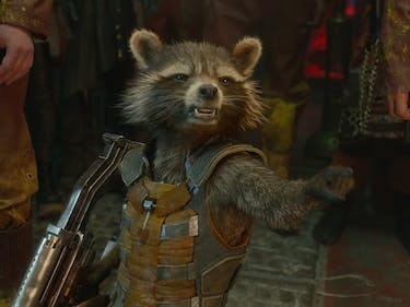 Rocket Gets Super Gross in New 'Guardians 2' Clip