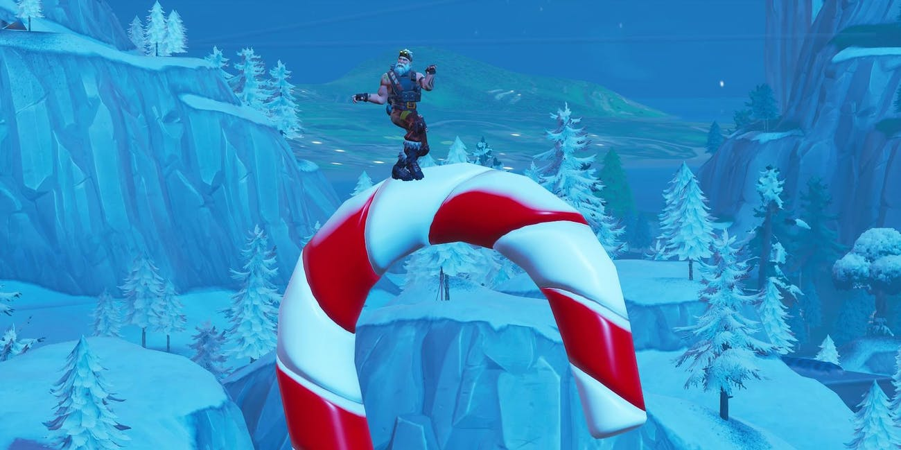 Fortnite Giant Candy Canes