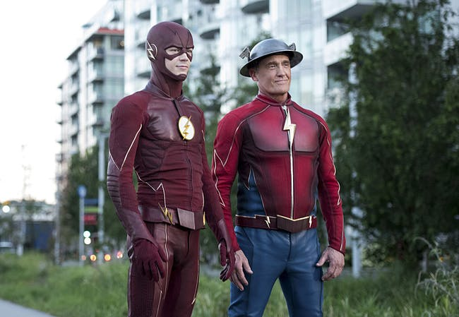 The Flash Jay Garrick Season 3 Barry Allen