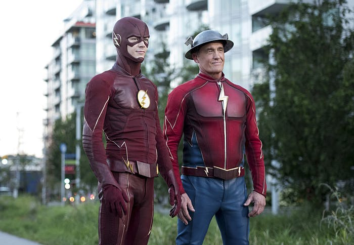 The Flash Jay Garrick Season 3 Barry Allen
