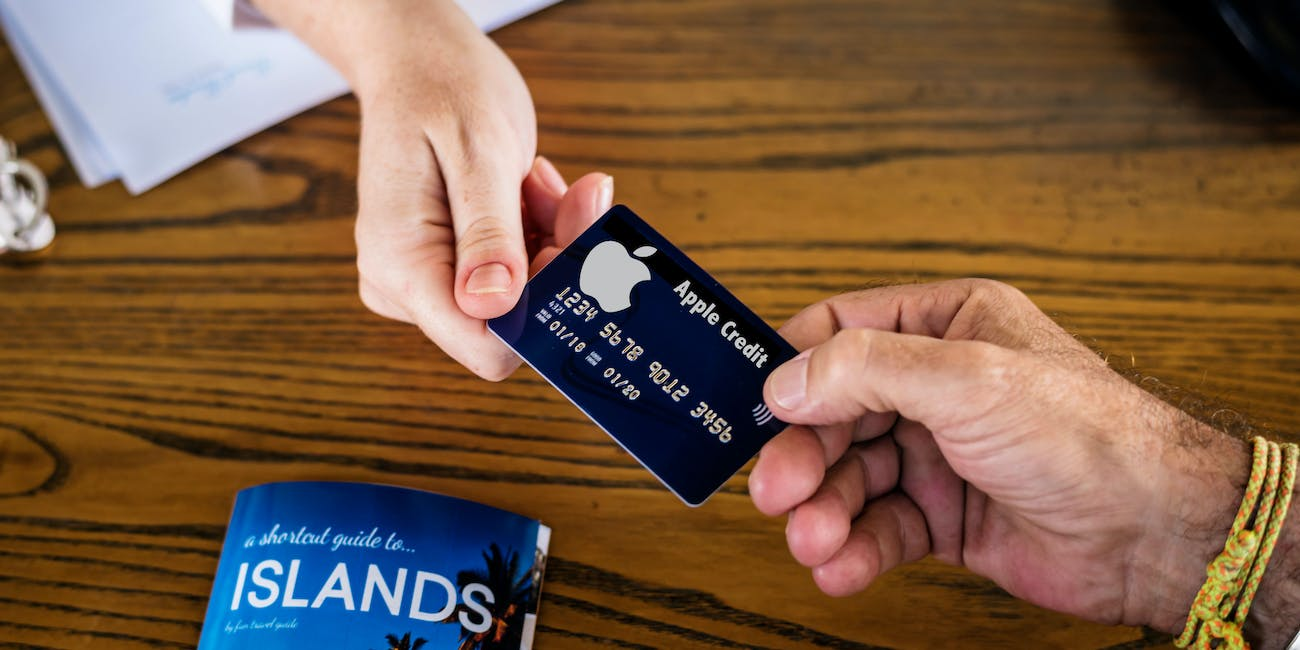 credit card apple