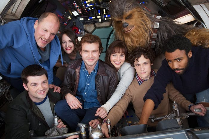 """Han Solo - Smuggler. Scoundrel. Hero. A new Star Wars Story begins."""