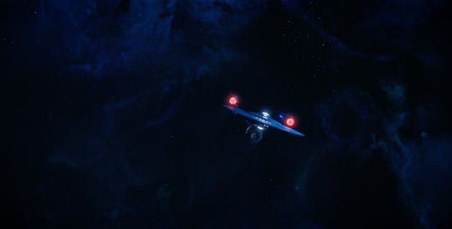 The USS Enterprise in 'Discovery'