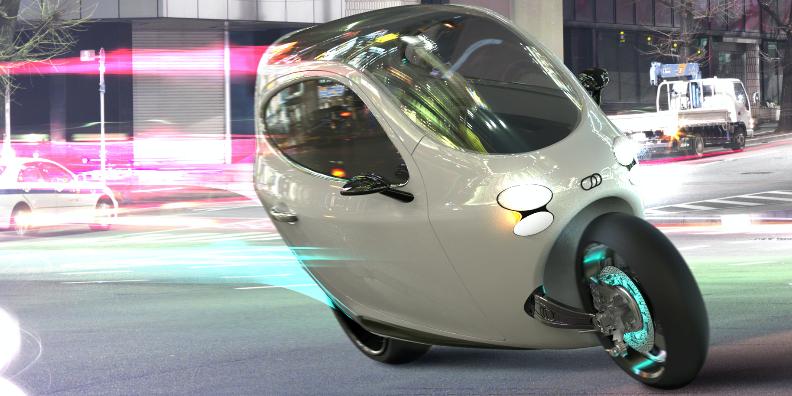 Lit Motors Self-Balancing Motorycle