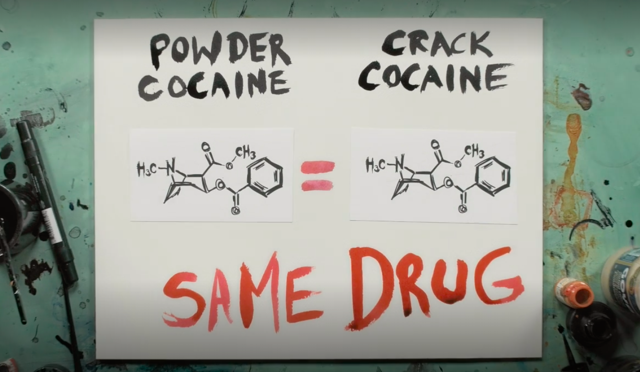 """The Feds made distinctions between people who sold powder cocaine and crack cocaine, even though they were the same drug."""