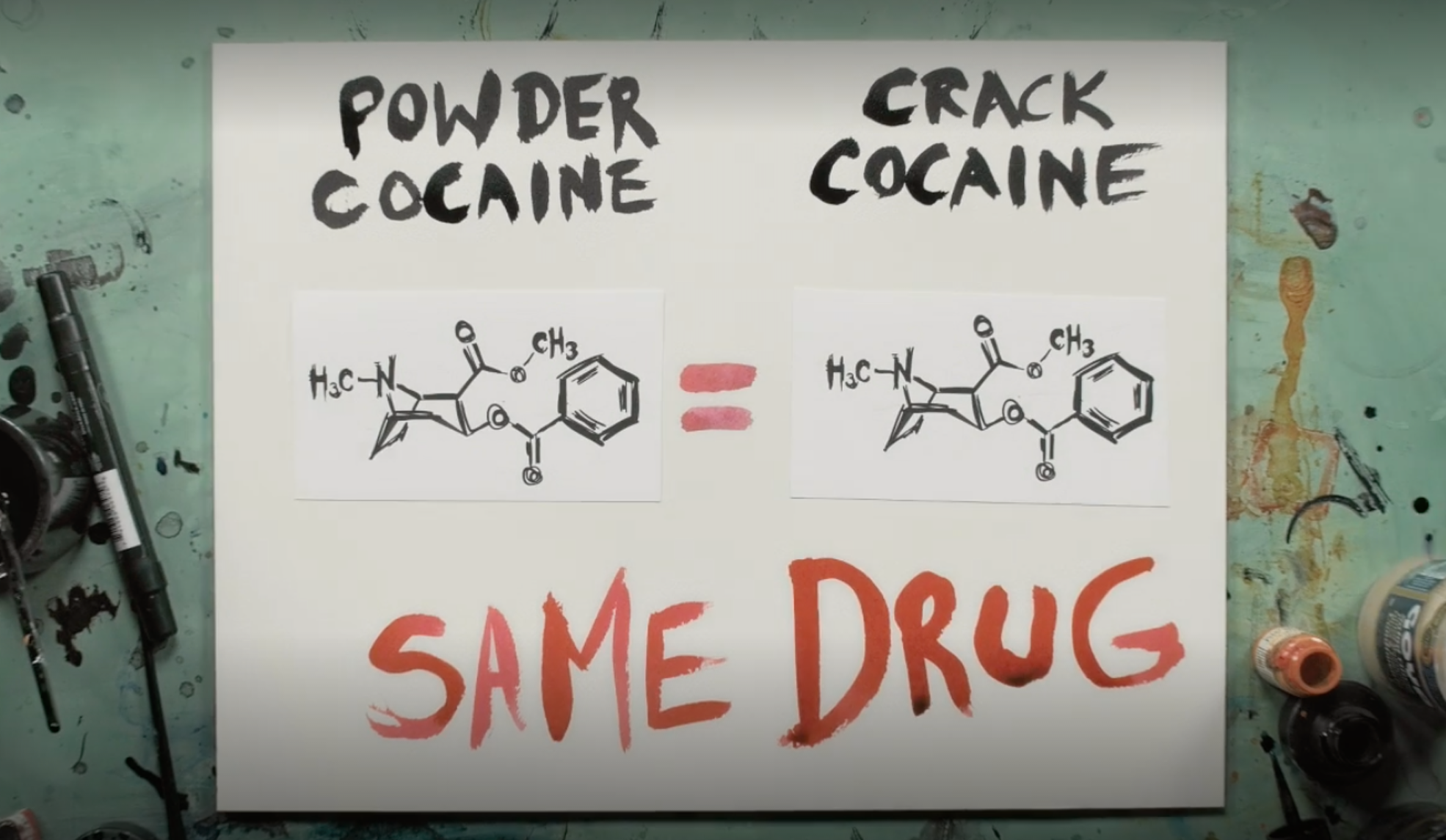 """""""The Feds made distinctions between people who sold powder cocaine and crack cocaine, even though they were the same drug."""""""