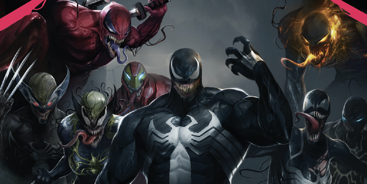 edge of venomverse event infects every marvel hero with