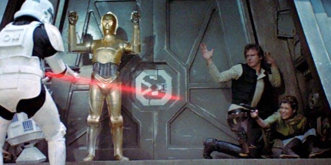 'Return of the Jedi' Stormtrooper win