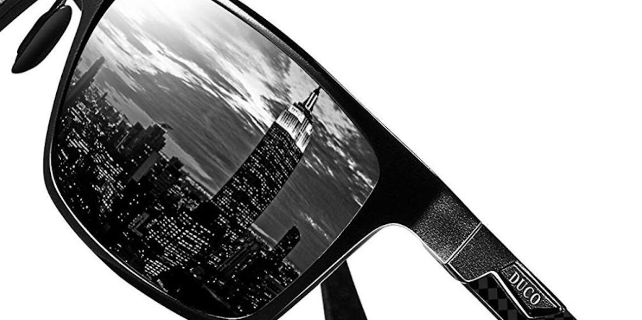 Duco Carbon Fiber Sunglasses For Men