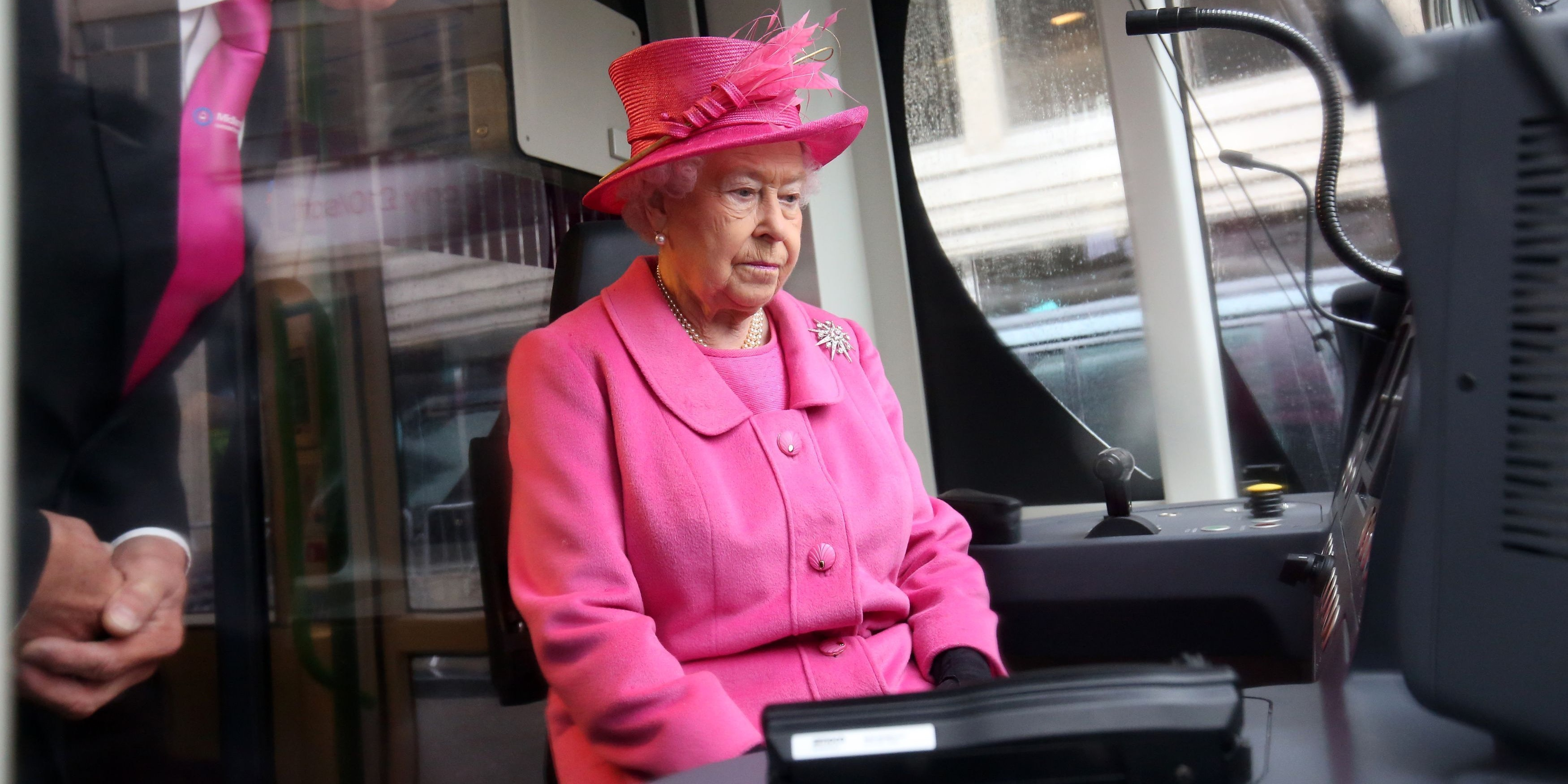Queen Elizabeth could finally quit her day job as a train conductor.